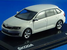 1/43 SKODA  Rapid Spaceback, weiß,
