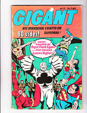 Gigant   9   Justice League Cover    1970's Denmark Comic