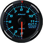 Defi Racer Gauge 52mm Exhaust Temperature Meter DF06804 Blue