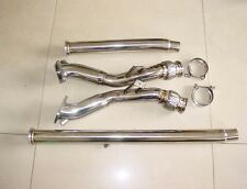 Audi S4 B5 2.7 V6 quattro Bi-Turbo Stainless Steel Exhaust Decat Downpipe 97-02