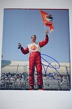 Sebastien Bourdais signed in person 8x10 F1-  Indy Car - CART - Newman-Haas