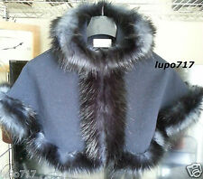 NAVY KIDS GIRL FLUFFY FAUX FUR HOODED WINTER CAPE COAT PONCHO SZ S 2-4 YEARS NEW
