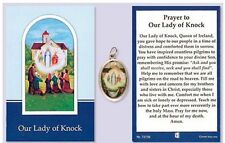 Our Lady of Knock Picture Medal with Prayer
