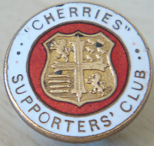 BOURNEMOUTH Vintage CHERRIES SUPPORTERS CLUB Badge Button hole 20mm x 20mm