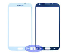 SAMSUNG GALAXY NOTE 2 N7100 WHITE OUTER LENS GLASS TOUCH SCREEN DIGITIZER PAD