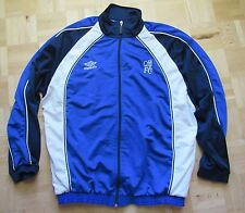 1999-2000 CHELSEA LONDON Zip sweatshirt Track Top by UMBRO UNIQUE  /men/blue/ M