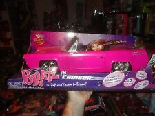 BRATZ FM CRUISER, WITH REAL WORKING FM RADIO, BEEPING HORN, FITS 2 BRATZ,  UNOPE