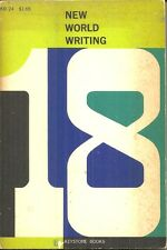 NEW WORLD WRITING 18 - MALCOLM LOWRY, JORGE LUIS BORGES, ALAIN ROBBE-GRILLET etc