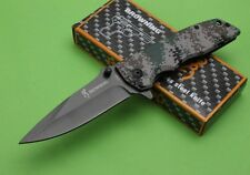 New Browning DA80 Camouflage Tactical Pocket Knife 5Cr15Mov Knife