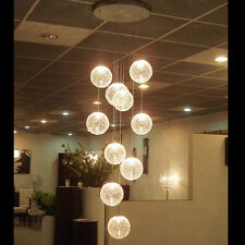 Contemporary Pendant Lamp Ceiling Light 10 light Wire Ball Lighting Chandelier