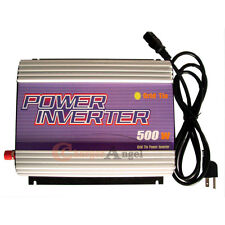 500W DC 24-52V TO AC 90V-130V Grid Tie Inverter Solar Panel Power Micro inverter