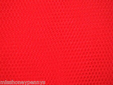 NEON Red TUTU FANCY DRESS NET (TULLE) FABRIC MATERIAL Table Top Dressing
