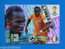 # ADRENALYN XL BRASIL 2014 LIMITED EDITION - Figurina-Sticker - D. DROGBA