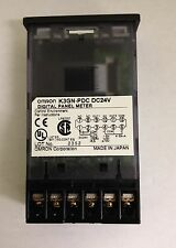 X1 NEW OMRON K3GN-PDC-24VDC  DIGITAL PANEL METER