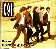 CD SINGLE promo 091 huellas / el fantasma de la soledad SPAIN rare 1993