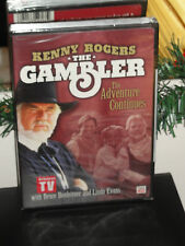 The Gambler: The Adventure Continues (DVD) Bruce Boxleitner, Kenny Rogers, NEW!