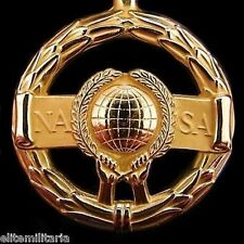 ORIGINAL US ASTRONAUT SPACE NASA EXCEPTIONAL SERVICE MEDAL ORDER FOR COURAGE