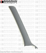 "Interior ""A"" Pillar Trim - Left - Grey - BMW E46 320i 323i 328i Sedan 1999-2000"