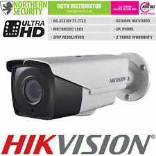 Cámara de seguridad Hikvision 3MP 1080P HD-TVI Turbo 2.8-12MM IR Lente de cctv motorizada