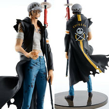 "ONE PIECE/ FIGURA TRAFALGAR LAW 20 CM- ANIME FIGURE WITH SWORD 7,9"" IN  BOX"