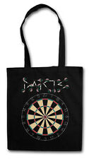 DARTS LOGO HIPSTER BAG - Cloth BAG Jute Tote Bag - Dart Player Sports