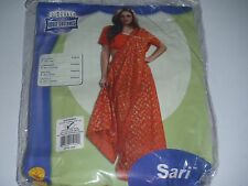 Deluxe Sari Costume Rubies Sari and Top Fits up to Dress Size 12