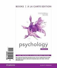 Psychology, Books a la Carte Edition by Saundra K. Ciccarelli and J. Noland Whit