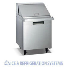 "27"" SUN ICE  SALAD & SANDWICH PREP TABLE REFRIGERATOR COOLER SUNST-27"