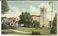 13361 soldier's Home Washington DC Military  postcard