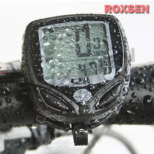 Waterproof 14 Function Bike Bicycle Cycling LCD Computer Odometer Speedometer