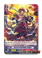 Cardfight Vanguard  x 4 Secret Fist Brawler, Kokon - G-BT05/063EN - C Mint