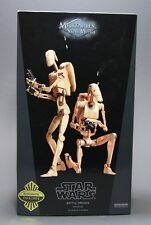 SIDESHOW COLLECTIBLES STAR WARS BATTLE DROIDS INFANTRY 1:6 SCALE EXCLUSIVE