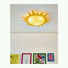 IKEA SMILA SOL children Ceiling lamp, yellow