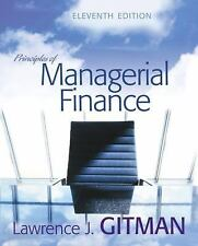 Principles of Managerial Finance plus MyFinanceLab (11th Edition)