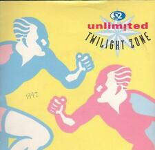 "2 Unlimited(7"" Vinyl P/S)Twlight Zone-PWL 211-65-Ex/VG+"