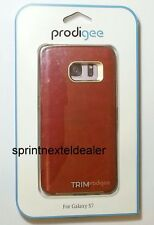 Prodigee Red Trim Case for Samsung Galax S7 - SGS7-TRM-RBY-RED