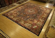10 x 12 Handmade SIGNED Antique Persian (Archaeological) Pictorial Vintage Rug