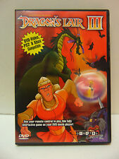 Dragons Lair III (DVD, DVD-Video, PS2,  XBox Compatible)