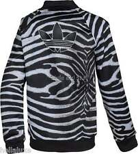 Adidas Originals SUPERGIRL ZEBRA Jacket Track sweat shirt firebird~Womens sz Lrg