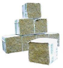 GRODAN 4x4x4cm cubo cube rockwool lana roccia idroponica 25 pezzi pcs talee g