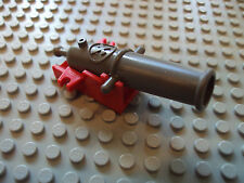 Lego Minifig ~ Cannon With Red Base / Pirate Imperial Armada Civil War #yhjgt
