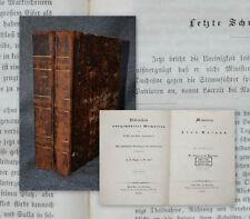 1844 Memoiren der Frau Roland de la Platiere Die Frauen in der Revolution 2 Bde