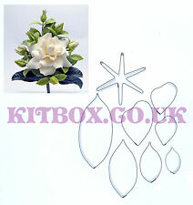Gardenia And Leaves 8 Set - Perfect for all sugarcraft and cake decoration.