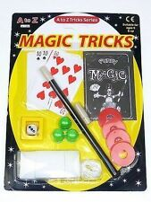 MAGIC TRICK SET FUN GIRLS BOYS TOY GIFT BIRTHDAY PARTY BAG FILLER