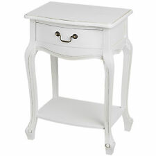 WHITE ROOM LAMP TABLE OR BEDSIDE TABLE - STORE YOUR FAVORITES BOOKS INSIDE