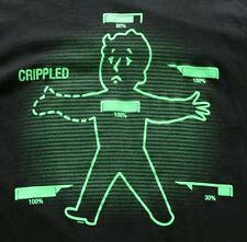 Fallout V.A.T.S., Glows in the Dark, Official Tee shirt