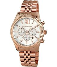 *NEW* MICHAEL KORS LEXINGTON WATCH MK8313 - LADIES MENS ROSE GOLD CHRONOGRAPH