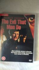 THE EVIL THAT MEN DO  DVD CHARLES BRONSON CLASSIC NEW