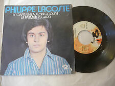 "PHILIPPE LACOSTE""LE CAPITAINE AU LONG COURS-disco 45 giri BARCLAY Fr 1970"""