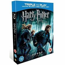 HARRY Potter AND The Deathly  Hallows Part 1 Triple Play Edition DVD, BLURAY, DC